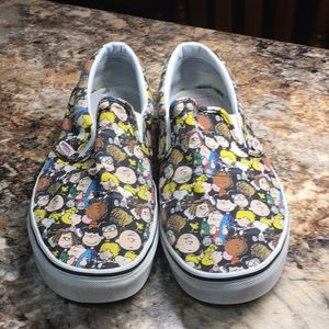 Vans Peanuts mens 11 good used condition!
